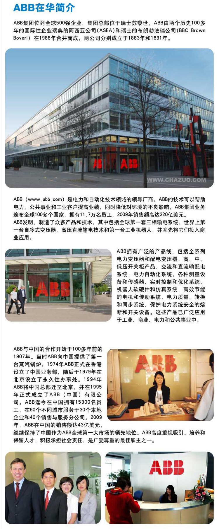 ABB公司简介