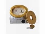 品牌:正旦 Zhengdan&#10名称:二位多功能插座&#10型号:DHL-130Y-3