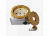 品牌:正旦 Zhengdan&#10名称:三位电话插座&#10型号:DHLB-130Y-2