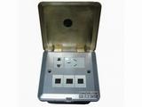 品牌:正旦 Zhengdan&#10名称:翻盖五孔插座+弱电支架&#10型号:DFK-125F-1