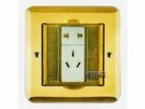 品牌:飞利富 Feilifu&#10名称:一位二极双用插座、一位二级带接地地面插座&#10型号:HTD-11