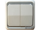 品牌:西蒙 Simtone&#10名称:二位双控大板开关&#10型号:60397-50