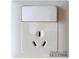 品牌:西蒙 Simtone&#10名称:10A三孔开关插座&#10型号:51083B