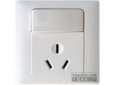 品牌:西蒙 Simtone&#10名称:16A三孔带开关空调插座&#10型号:51682B