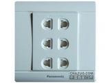 品牌:松下 Panasonic&#10名称:单相三位二极插座&#10型号:WMS116