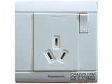 品牌:松下 Panasonic&#10名称:单相带开关插座&#10型号:WMS602