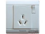 品牌:松下 Panasonic&#10名称:单相带开关插座&#10型号:WMS608