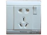 品牌:松下 Panasonic&#10名称:单相带开关插座&#10型号:WMS622