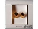 品牌:松下 Panasonic&#10名称:音响信号插座&#10型号:WMS182