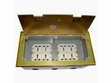 品牌:瑞博 Ruibo&#10名称:超高底盒八位电源地面插座&#10型号:RDC-300G
