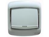 品牌:梅兰日兰 Meilan&#10名称:白色一位双控大跷扳开关&#10型号:L210/2W.AA