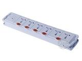 品牌:突破 Top&#10名称:保镖雷霸系列插座 6联3米(五控六) (过载保护+防浪涌+独立开关)&#10型号:TZ-Y/TZ-C12