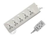 品牌:可来博 Clamber&#10名称:漏电保护五开五位3米&#10型号:STY-1-55L.3M