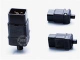 品牌:奥盛 Aosens&#10名称:16A IEC-C20服务器专用插头&#10型号:AS-SS-810