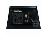 品牌:龙鑫 Longxin&#10名称:弹起式桌面插座&#10型号:ZH201