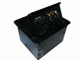 品牌:奥盛 Aosens&#10名称:弹起式单电源桌面插座(机箱)&#10型号:AS-220S