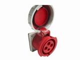 品牌:怡达 YEEDA&#10名称:IP67暗装直插座4芯(32A380V)&#10型号:1243206
