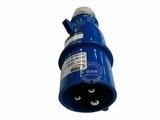 品牌:怡达 YEEDA&#10名称:IP44连接器插头3芯(16A220V)&#10型号:0130106