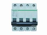 品牌:施耐德 Schneider&#10名称:C65N 4P63A断路器&#10型号:C65N4PC63
