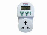 品牌:科德 Kerde&#10名称:24小时数字式定时器插座&#10型号:TW-268