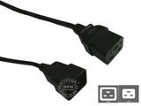 品牌:国产 Guochan&#10名称:服务器PDU专用16A延长线3米1.5平方&#10型号:C19-C20/3m/1.5mm