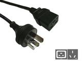 品牌:国产 Guochan&#10名称:服务器PDU专用直头16A延长线1.8米1.5平方&#10型号:GB16-C19/1.8m/1.5mm