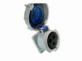 品牌:威浦 Weipu&#10名称:IP67暗装直插座3芯(32A220V)&#10型号:5802