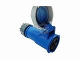 品牌:威浦 Weipu&#10名称:IP67连接器插座3芯(16A220V)&#10型号:2602