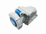 品牌:威浦 Weipu&#10名称:IP67明装插座3芯(16A220V)&#10型号:8602