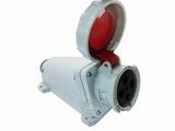 品牌:威浦 Weipu&#10名称:IP67明装插座4芯(63A380V)&#10型号:6919