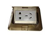 品牌:松下 Panasonic&#10名称:五孔电源地面插座&#10型号:SX-DM-1