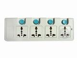 品牌:可来博 Clamber&#10名称:高品尊享插座 四位四开关插座 3米&#10型号:STY-E44.3m