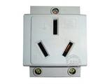 品牌:正泰 Chint&#10名称:25A 模数化导轨插座/轨道插座&#10型号:AC30-120