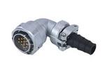 品牌:科臣 Kechen&#10名称:航空插头/插座 KY型弯式固定电缆式插头&#10型号:KY-TV