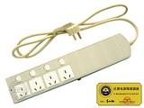 品牌:国产 Guochan&#10名称:红黑电源隔离插座转换器 分控四位 防电磁泄漏&#10型号:RBI-1