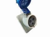 品牌:威浦 Weipu&#10名称:IP44暗装斜插座3芯(16A220V)&#10型号:3601