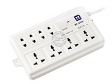 品牌:国产 Guochan&#10名称:多路电话遥控插座&#10型号:AS-BY-T8