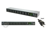 品牌:奥盛 Aosens&#10名称:Switched PDU 1511A-08N1&#10型号:SWH-1511A-08N1
