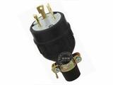品牌:进口 Imports&#10名称:NEMA L6-30 橡胶防松脱美式引挂式接线头 单相三极 30A/250V &#10型号:AS-CWJ-8331R