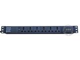 品牌:奥盛 Aosens&#10名称:Basic系列万用插孔 8位PDU机柜插座&#10型号:AS-LG-M6S