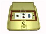 品牌:基讯 EXCEL&#10名称:开启式防水地插/高级防水弱电组合地面插座&#10型号:GC-DT/FS/F3
