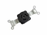 品牌:进口 Imports&#10名称:NEMA L6-15R 防松脱美式插座单相三极15A/250V &#10型号:AS-CJ-706