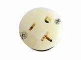 品牌:进口 Imports&#10名称:NEMA 5-20R防松脱美式连接器 单相三极20A/125V &#10型号:AS-CJ-718