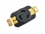 品牌:进口 Imports&#10名称:NEMA L6-20R 防脱落插座 UL认证防松插座 机柜暗装插座&#10型号:WJ-6322B