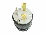 品牌:进口 Imports&#10名称:NEMA L5-30  防松脱美式引挂式接线头 单相三极30A/125V &#10型号:AS-CWJ-8330
