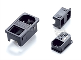 品牌:奥盛 Aosens&#10名称:IEC-C14服务器专用插头组合模块&#10型号:AS-SS-8B-2