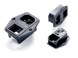品牌:奥盛 Aosens&#10名称:固定式IEC-C14服务器专用插头组合模块&#10型号:AS-SS-8B-3
