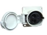 品牌:怡达 YEEDA&#10名称:IP44暗装工业插座(32A36V)&#10型号:1123106