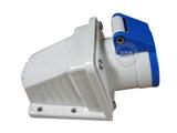 品牌:威浦 Weipu&#10名称:IP44明装插座3芯(16A220V)&#10型号:6601