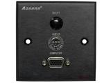 品牌:奥盛 Aosens&#10名称:多媒体面板&#10型号:AS-ZJ-WP107(黑色)